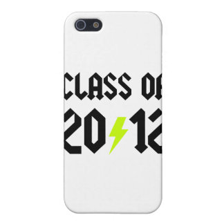 Class Of 2012 Yellow Bolt iPhone 5 Covers