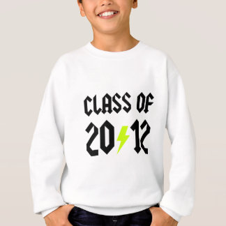 Class Of 2012 Yellow Bolt Sweatshirt