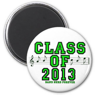 Class Of 2013 6 Cm Round Magnet