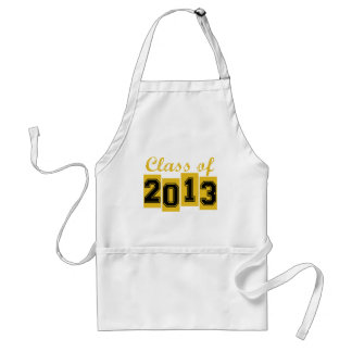 Class of 2013 aprons