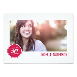 CLASS OF 2013 BADGE  | GRADUATION INVITATION