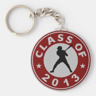 Class Of 2013 Baseball Key Chain