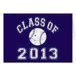 Class Of 2013 Baseball - White Card