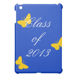 Class of 2013 - Blue and Gold Butterfly iPad Mini Cases