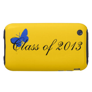 Class of 2013 - Blue and Gold Tough iPhone 3 Covers