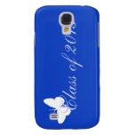 Class of 2013 - Blue Butterfly Samsung Galaxy S4 Cases
