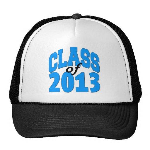 Class of 2013 (blue ) trucker hats