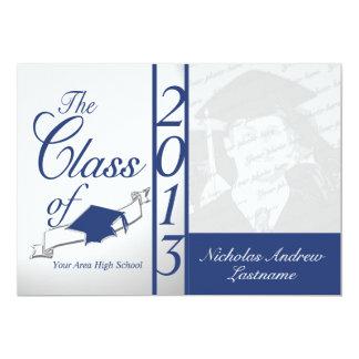 Class of 2013 Blue Photo Card
