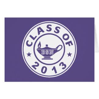 Class Of 2013 BSN Card