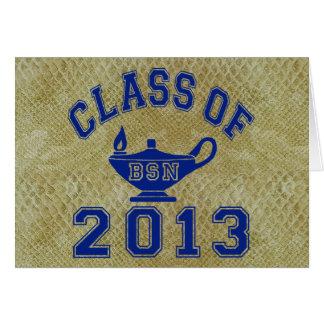 Class Of 2013 BSN Note Card