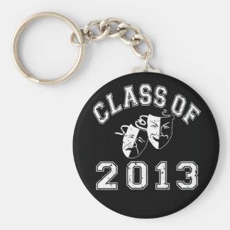 Class Of 2013 Drama Basic Round Button Key Ring