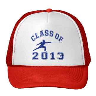 Class Of 2013 Fencing Trucker Hats