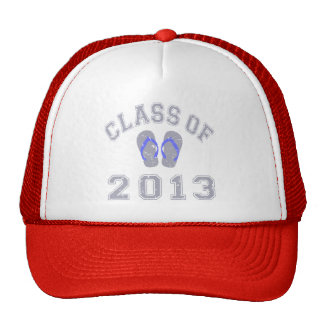 Class Of 2013 Flip Flop - Grey/Blue 2 D Cap