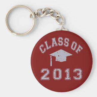 Class Of 2013 Graduation - Grey Key Chain