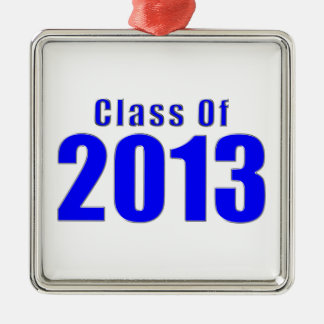 Class of 2013 Graduation Ornament Blue and Silver