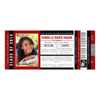 Class of 2013 Graduation VIP Admission Ticket Card