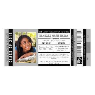 Class of 2013 Graduation VIP Admission Ticket Custom Invite