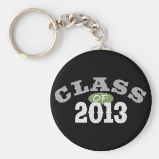 Class Of 2013 Green Key Ring