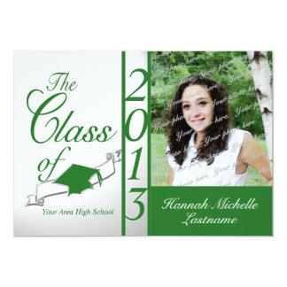 Class of 2013 Green Photo Card