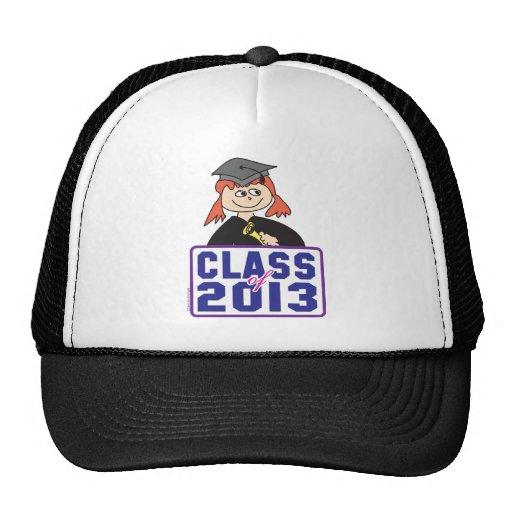 Class of 2013 mesh hats
