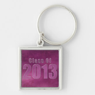 Class of 2013 Keychain Purple Grunge