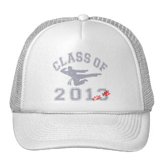 Class Of 2013 Kick-ASS - Grey 2 D Cap