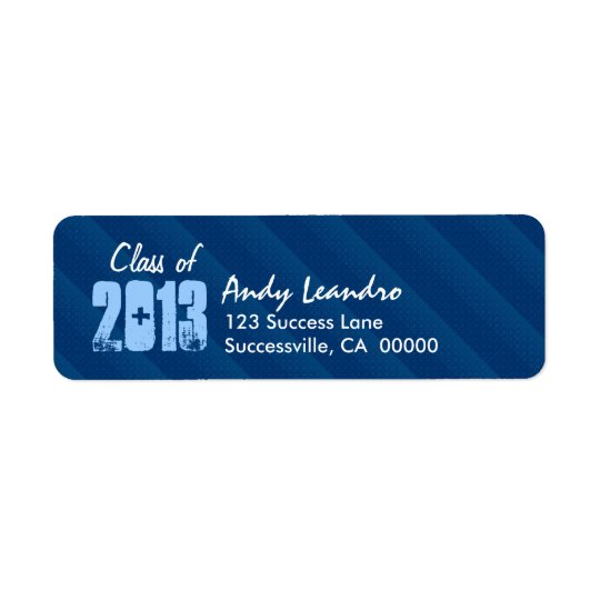 Class of 2013 New Grad or Any Year Blue 04