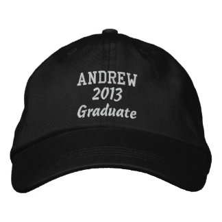 Class of 2013 New Grad or Any Year Custom Name Embroidered Cap