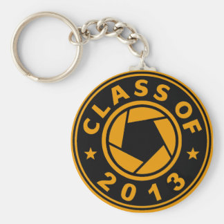 Class Of 2013 Photography Basic Round Button Key Ring