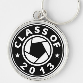 Class Of 2013 Photography Silver-Colored Round Key Ring