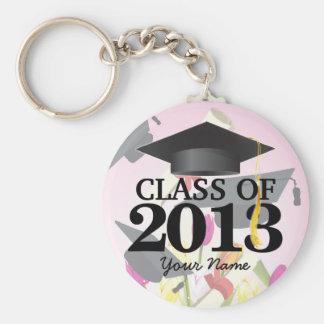 Class of 2013 Pink.Graduation Keychain