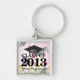 Class of 2013 Pink Graduation Keychains