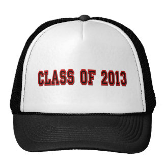 Class of 2013 Red and Black Cap