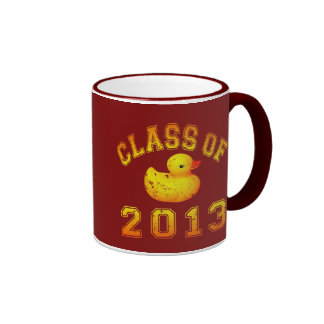 Class Of 2013 Rubber Duckie Ringer Coffee Mug