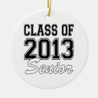 Class of 2013 Senior Round Ceramic Decoration