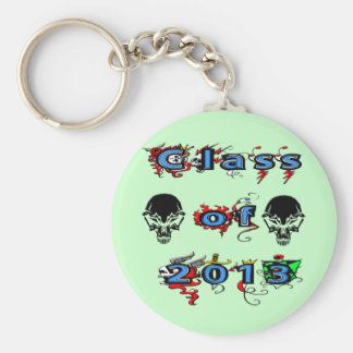 Class of 2013 - Skulls Keychains