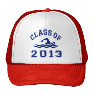 Class Of 2013 Swimming Trucker Hats