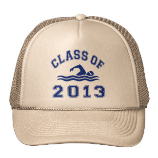 Class Of 2013 Swimming Mesh Hats