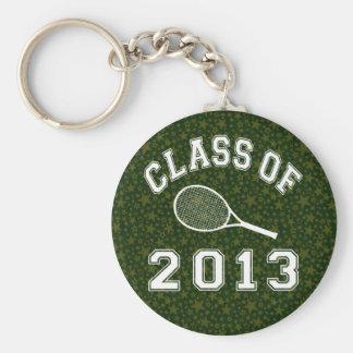Class Of 2013 Tennis Keychain