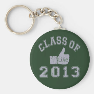 Class Of 2013 Thumbs Up Keychains