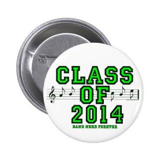 Class Of 2014 6 Cm Round Badge