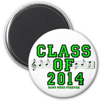 Class Of 2014 6 Cm Round Magnet