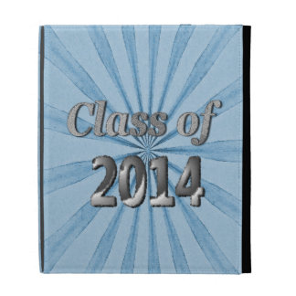 Class of 2014 Blue and Silver iPad Cases