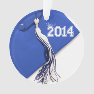 Class of 2014 Blue Graduation Cap