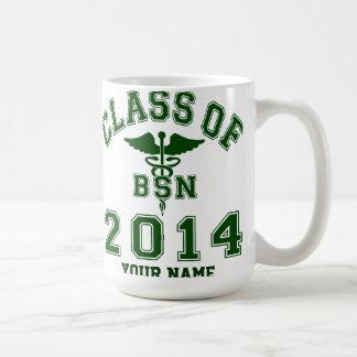 Class Of 2014 BSN Basic White Mug