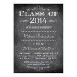 Class of 2014 chalkboard graduation party invite