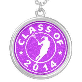 Class Of 2014 Girl Lacrosse Pendants