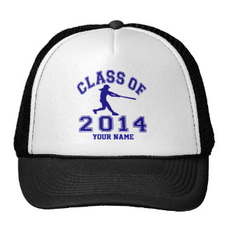 Class Of 2014 Girl Softball Trucker Hat