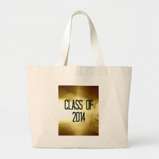 class of 2014 gold background bag
