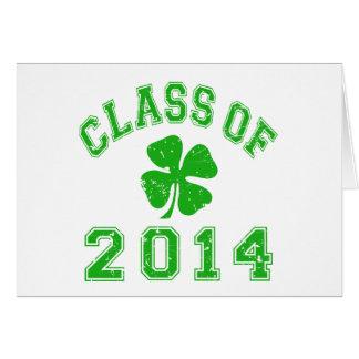 Class Of 2014 Good Luck Card